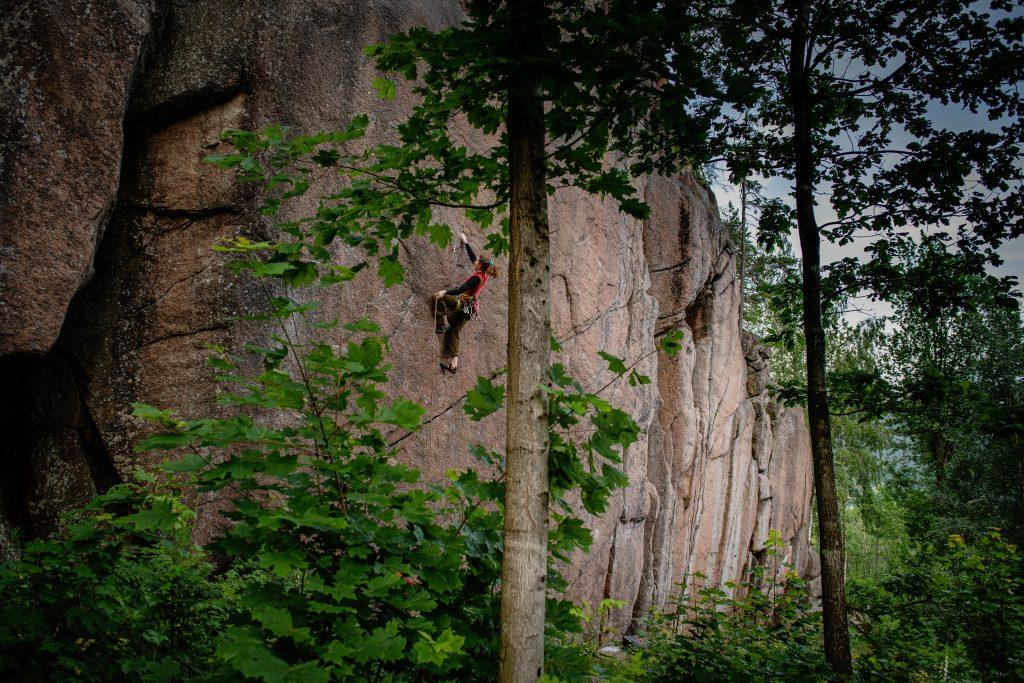 Gled deg til ny klatrefører for Drammensgranitten